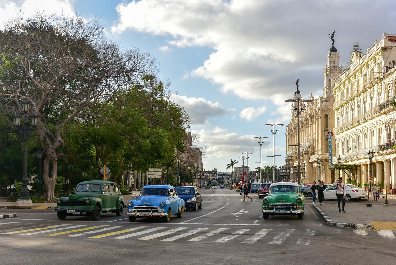 Paseo del Prado, Havana