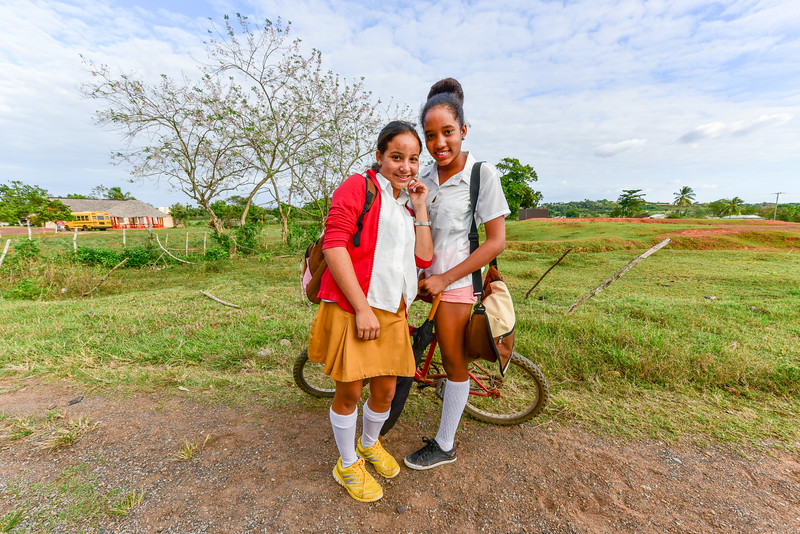Cuban School Girls