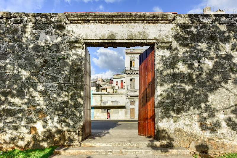 Old City Wall - Havana, Cuba