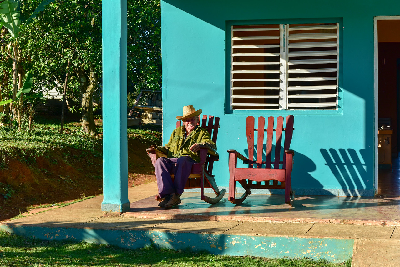 House in Vinales, Cuba