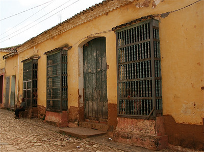 Het oudste huis van Trinidad, Cuba.