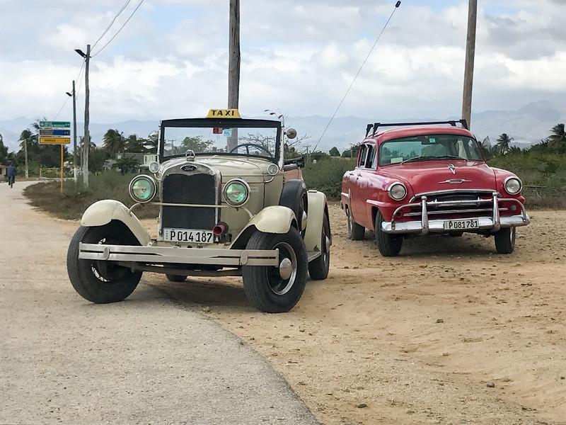 Classic Car Taxi - Cuba
