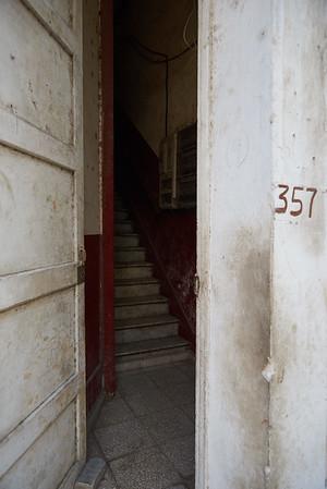 Stairway, old Havana.