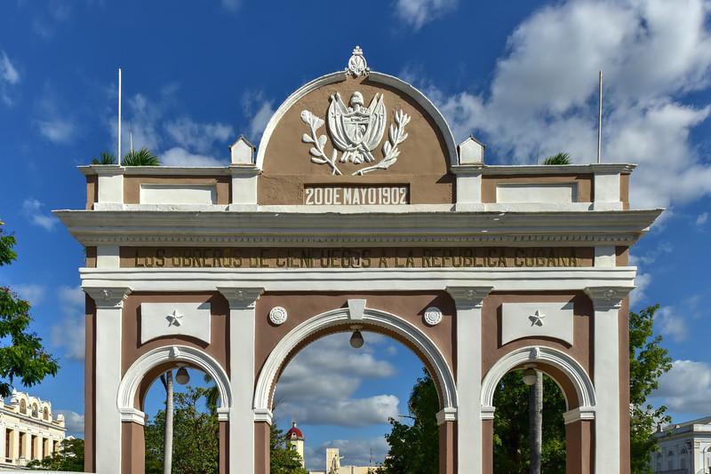 Triumphal Arch - Cienfuegos, Cuba