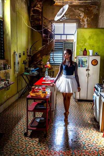 Ballerina in the Kitchen