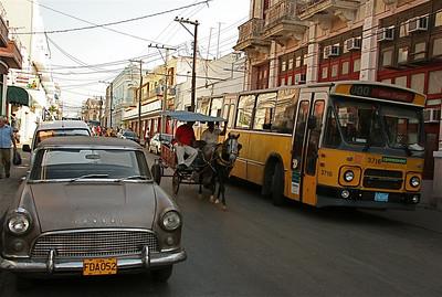 Connexxion heeft geen dienst. Cienfuegos, Cuba.