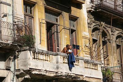 Havana en balkonnetjes. Cuba.