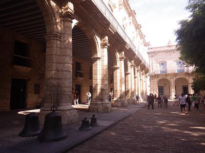 Church square in Havana