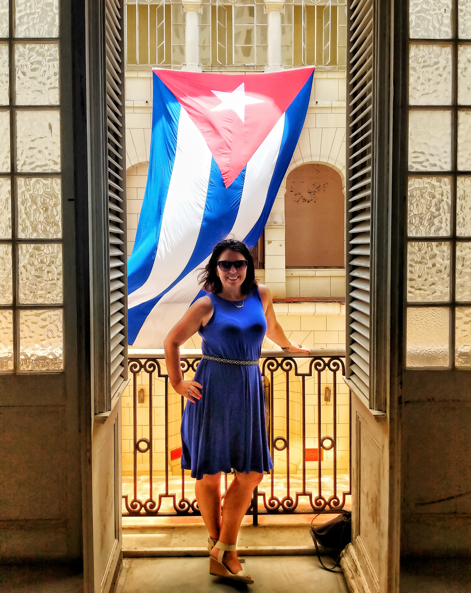 Museum of the Revolution in Havana Cuba has a great instagram location.
