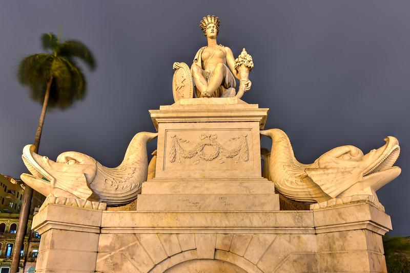 Fountain of the Indian Woman - Havana, Cuba