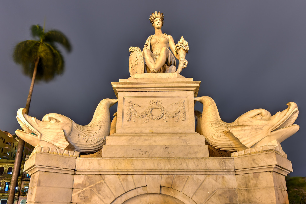Fountain of the Indian Woman - Havana, Cuba