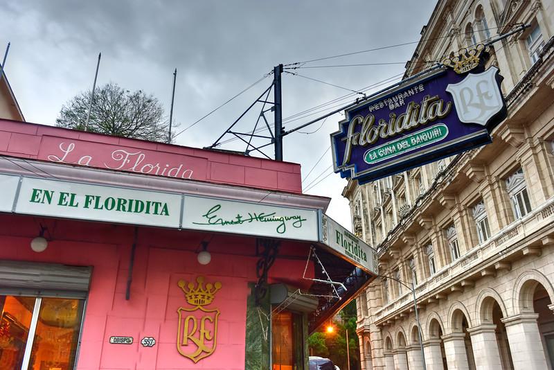 El Floridita - Havana, Cuba