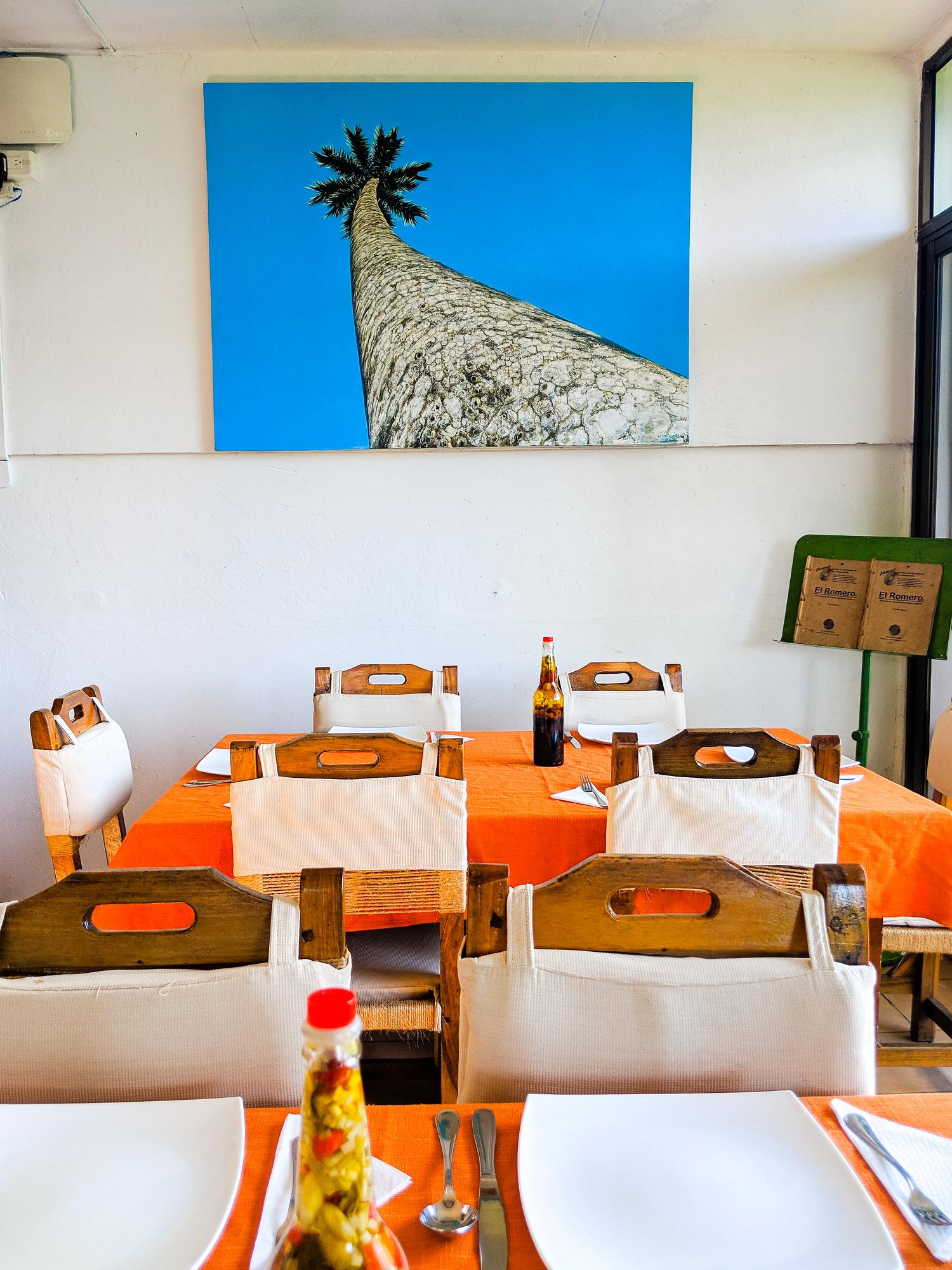 El Romero restaurant in Las Terrazas Cuba