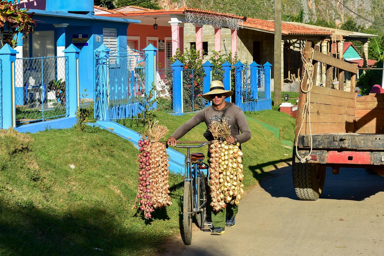 Street Vendor - Vinales, Cuba