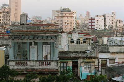 Vergane glorie van koloniaal Havana. Cuba.