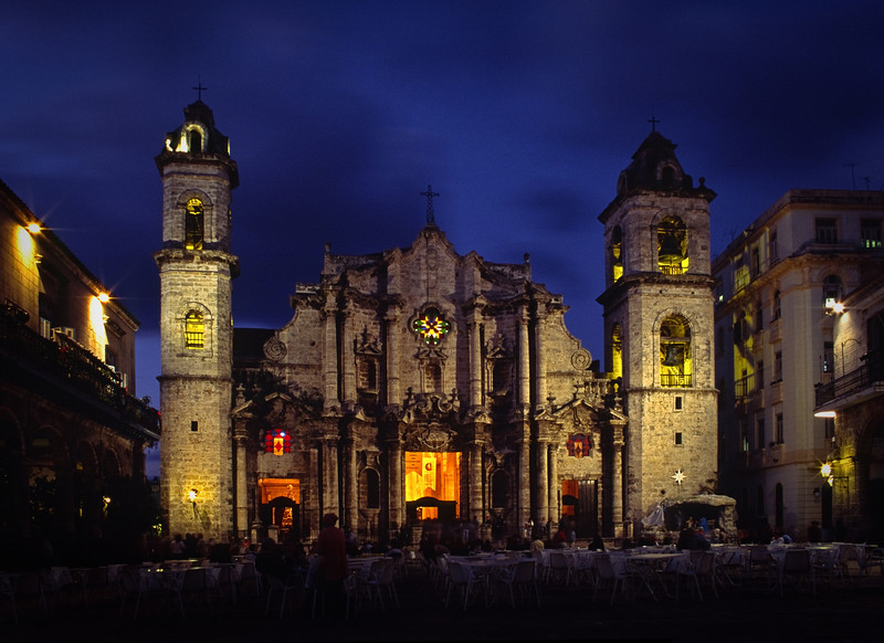 Sancristobal Cathedral, Havana, Cuba<br /> © Douglas Remington - Ethereal Light Photography, LLC. All Rights Reserved. Do not copy or download.