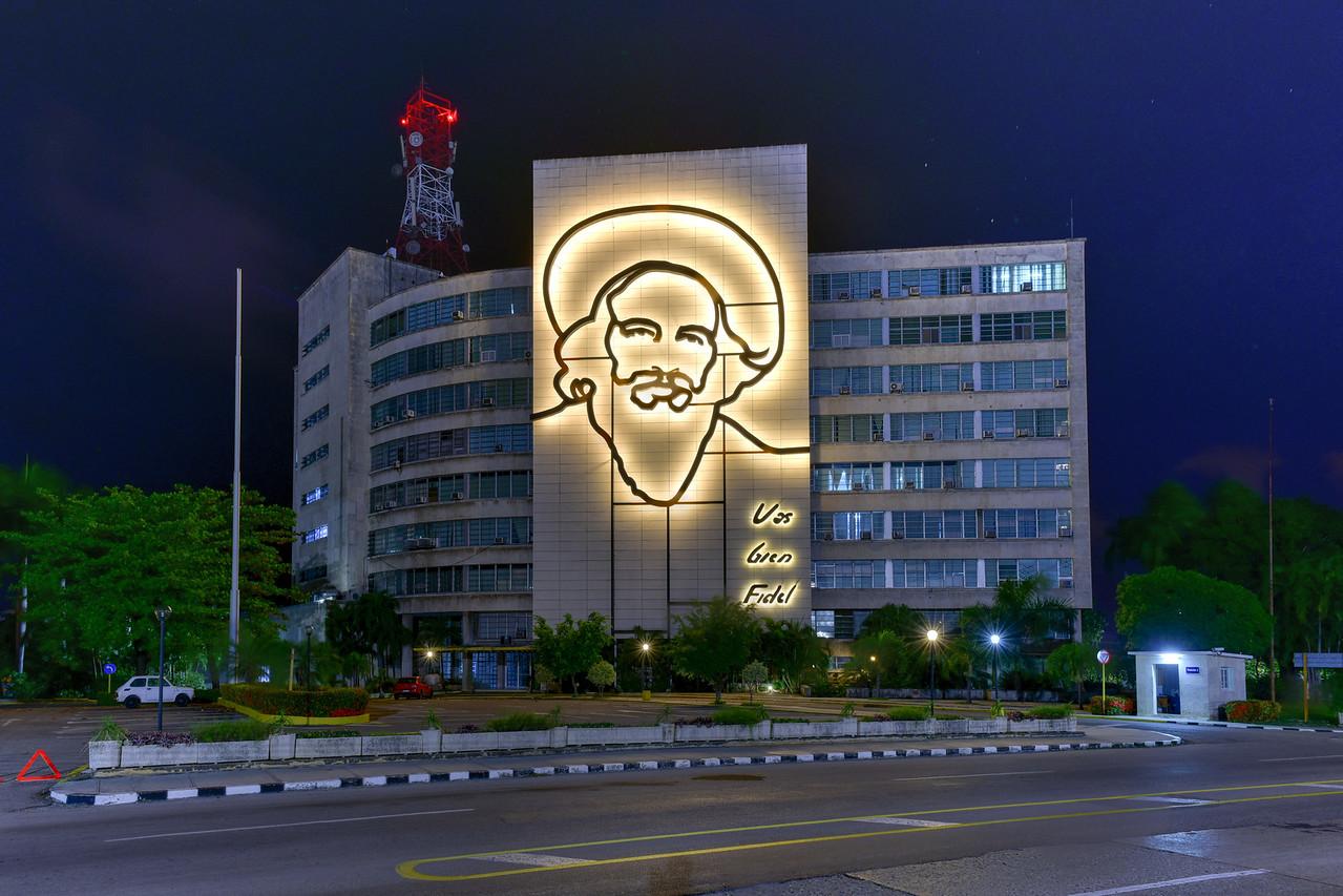 Camilo Cienfuegos Portrait - Havana, Cuba