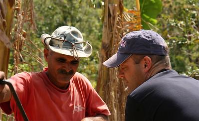 Suikerriet persen. Valle de Vinales, Cuba.