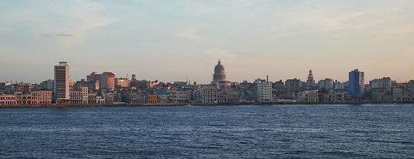 Havana seafront.