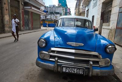 American old-timer, Old Havana.