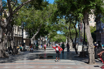 Paseo de Marti, Havana.