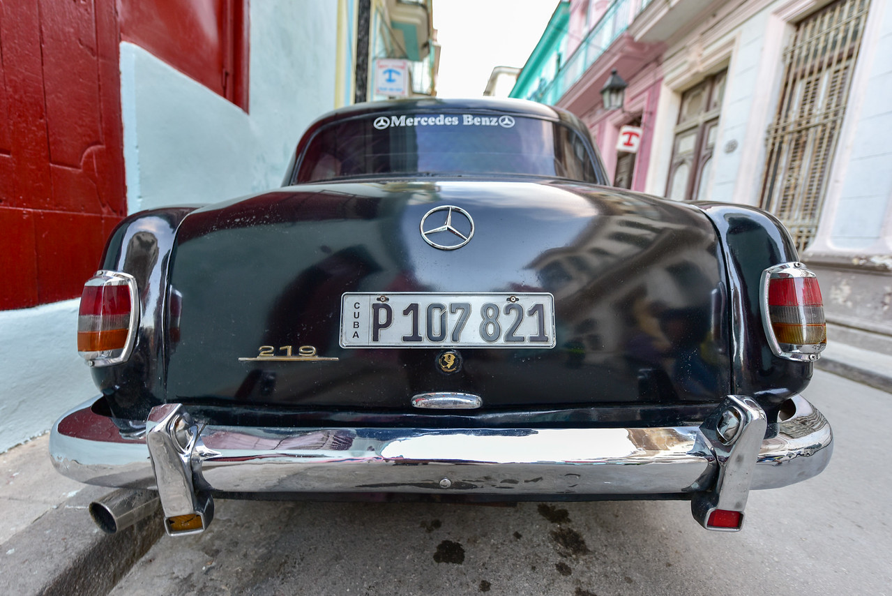 Classic Car in Old Havana