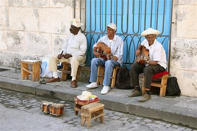 Musica en la Calle. Havana, Cuba.