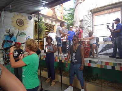 Water tank performers