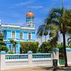 Palacio Azul Hotel, a typical colonial style mansion in Cienfuegos Cuba