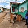 La Palma village and the garlic merchant