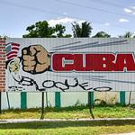 Cuba Embargo Sign - Cienfuegos, Cuba