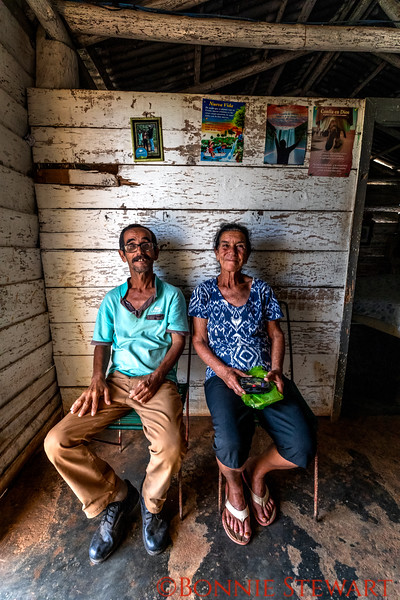 Inside the tobacco workers home