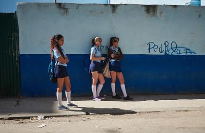 School kids in Havana.