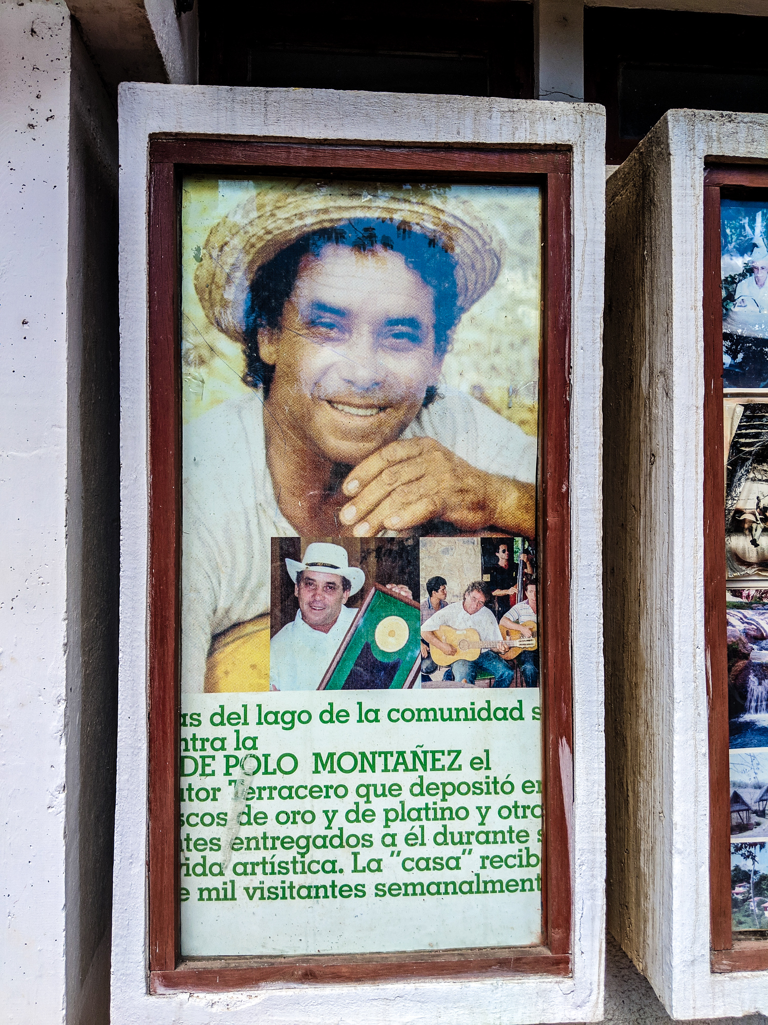 Polo Montanez museum in Las Terrazas Cuba, a famous musician in the country.