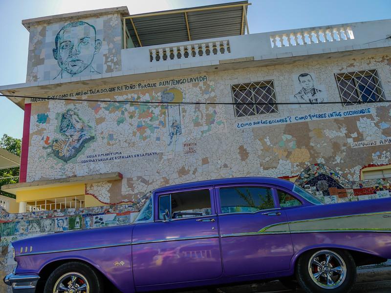Fusterlandia is the creation of Cuban artist José Fuster.  Havana, Cuba, June 3, 2016.