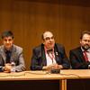Mayor Juan Avila Frances, Conde Ropherman, Benjamín Prieto Valencia - Presiente de la Diputación Provincial de Cuenca