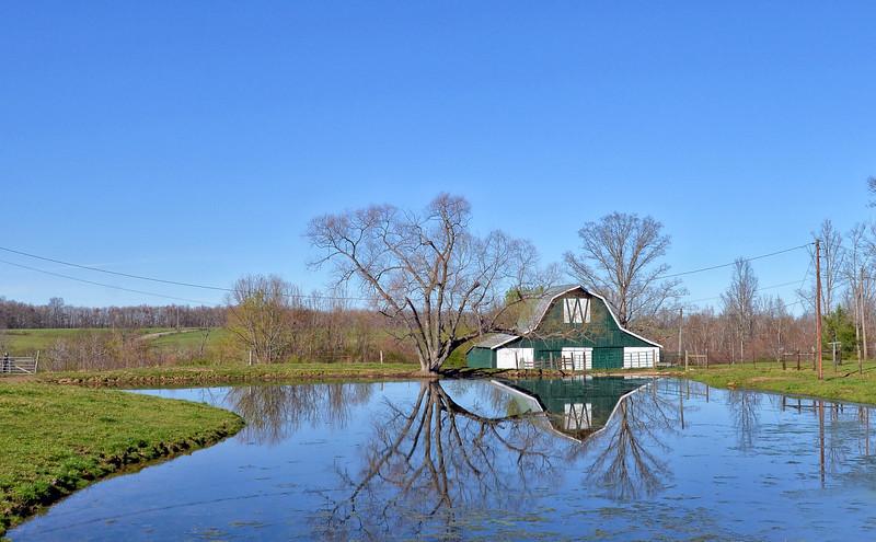 Rural Tennessee barn