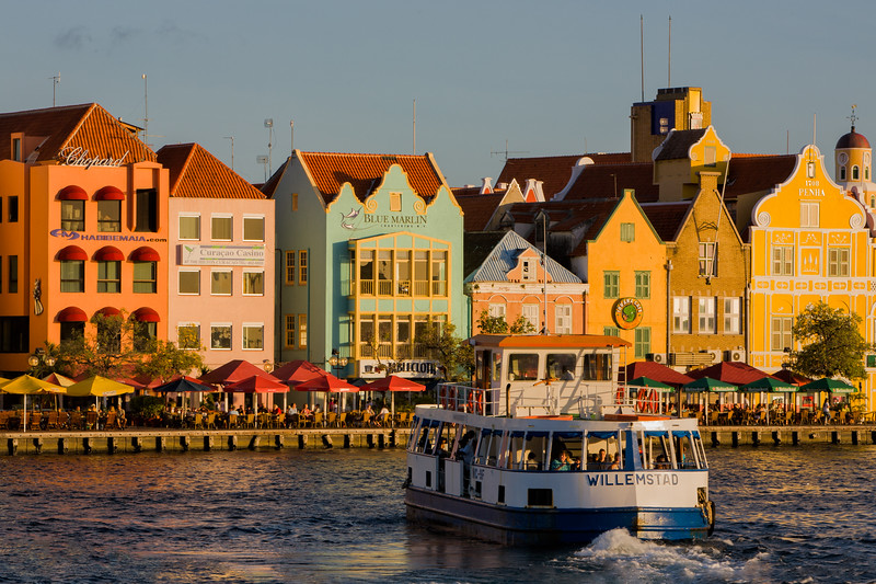 Sunset on Willemstad Skyline