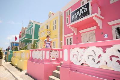 De wijk Pietermaai, Willemstad, Curaçao.