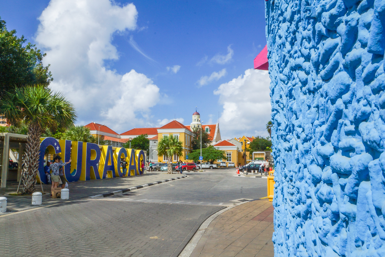 Curacao in Blue
