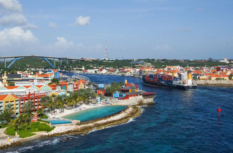 Sint Annabaai Channel,  Willemstad, Curacao