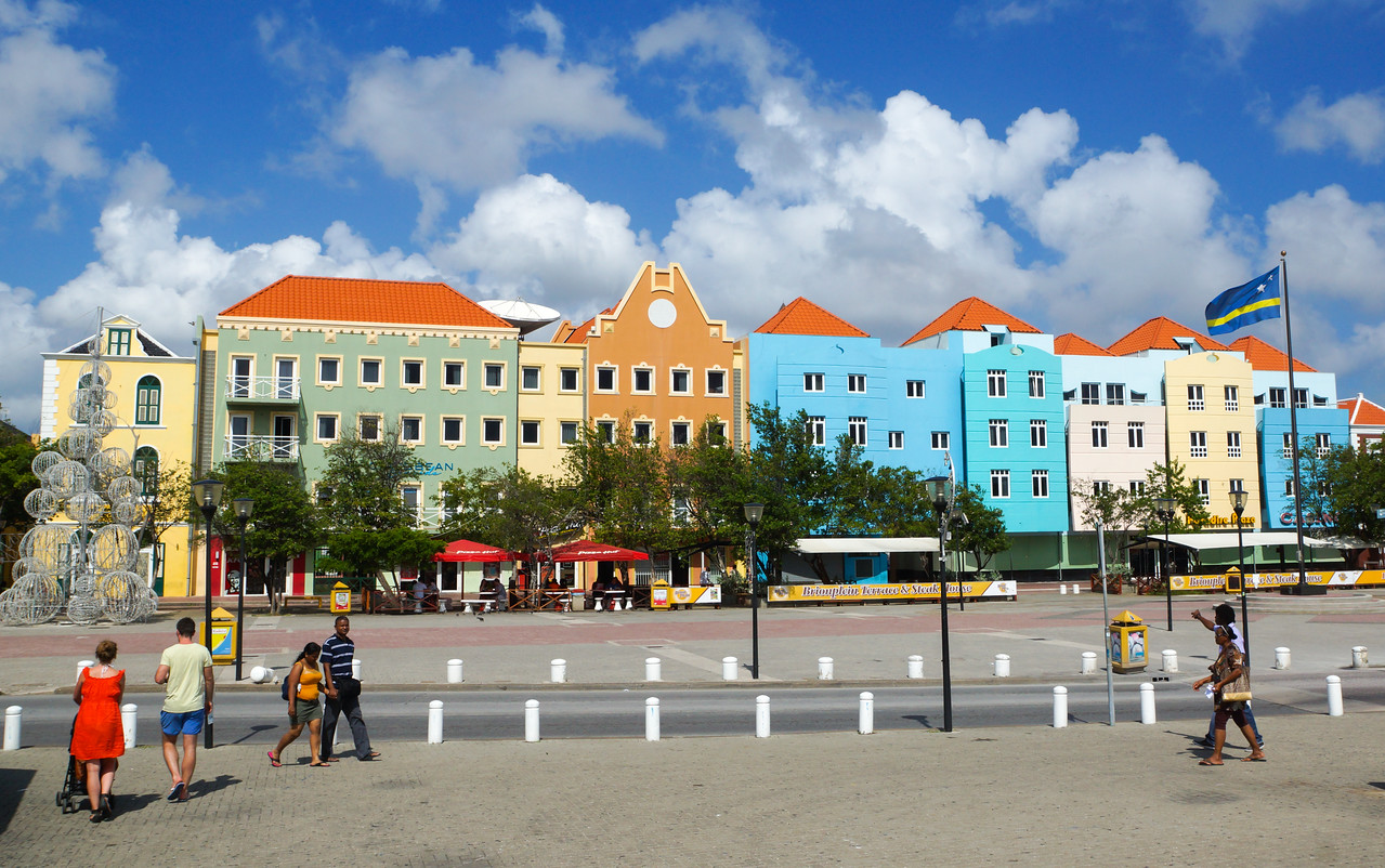 Plaza at Otrabanda, Willemstad, Curacao