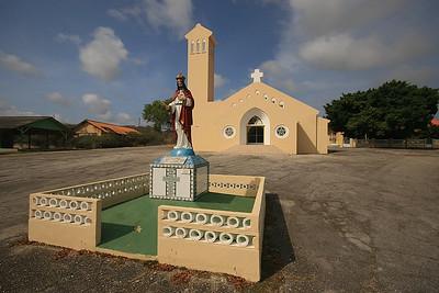 De kerk van Soto, Curaçao.
