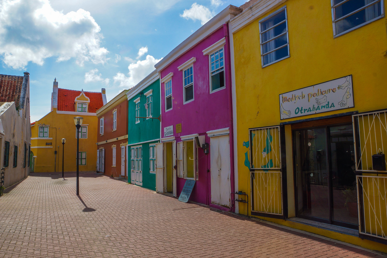 Storefronts, Willemstad, Curacao