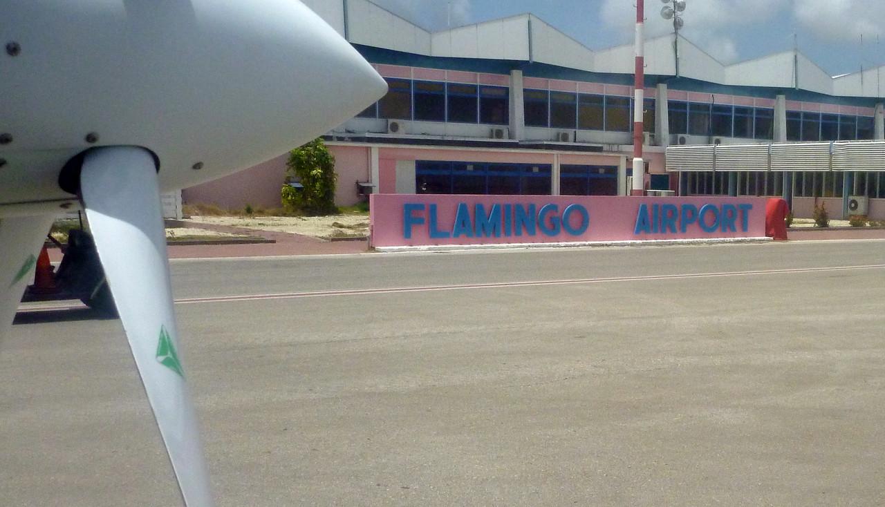 Bonaire's airport