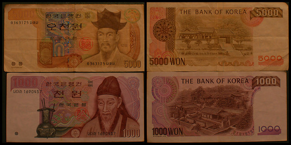 South Korea currency