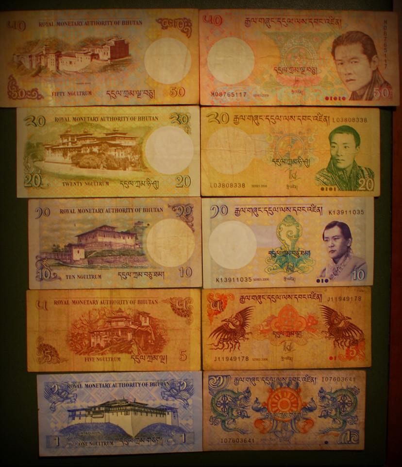 currency of Bhutan