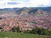 Cusco from up on the hill