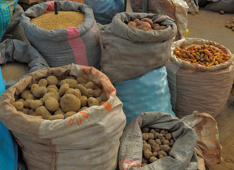 There are 4000 varieties of potatoes in Peru.