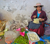 At a market in Urubamba